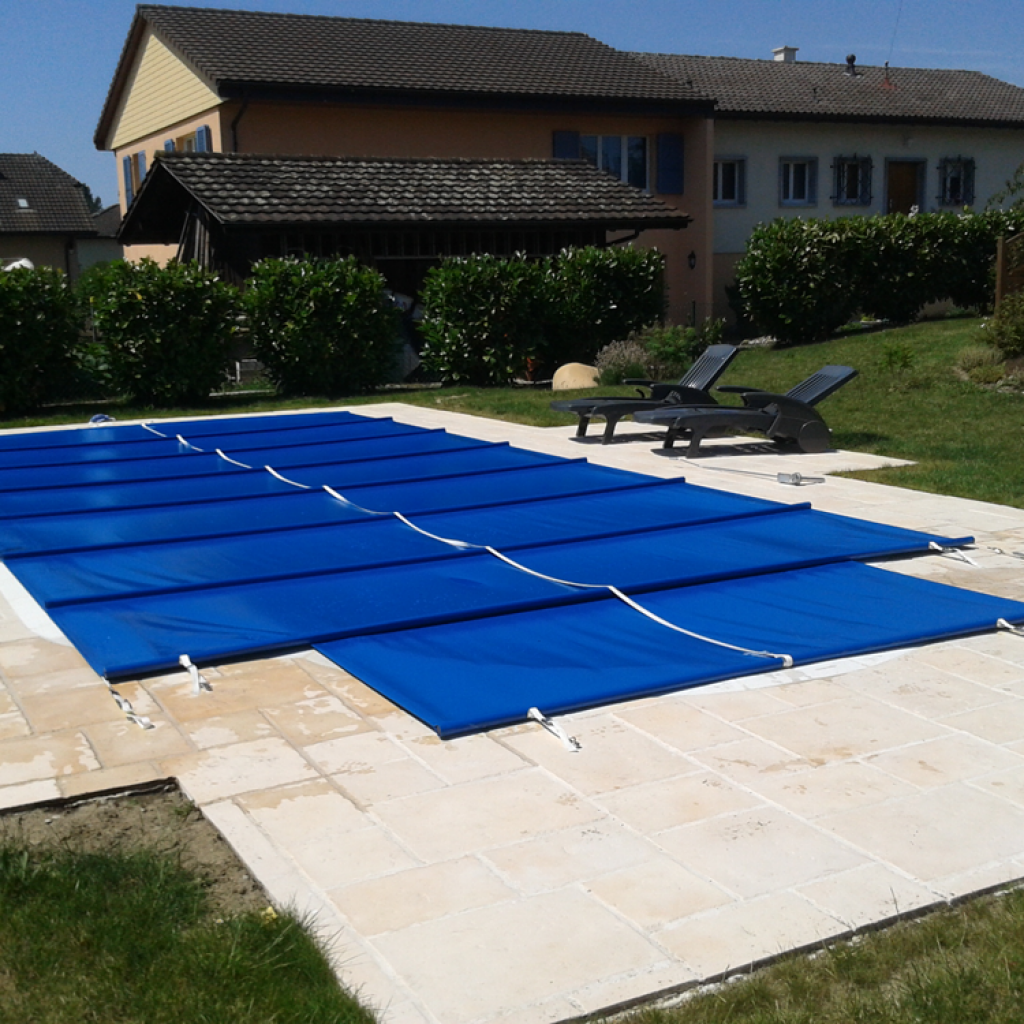 Bache protection piscine bche de scurit piscine premium for Protection piscine